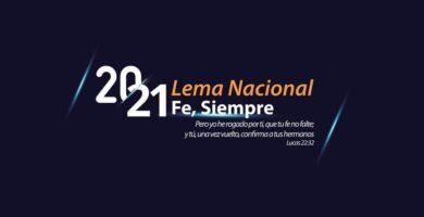 FE SIEMPRE | Lema oficial año 2021